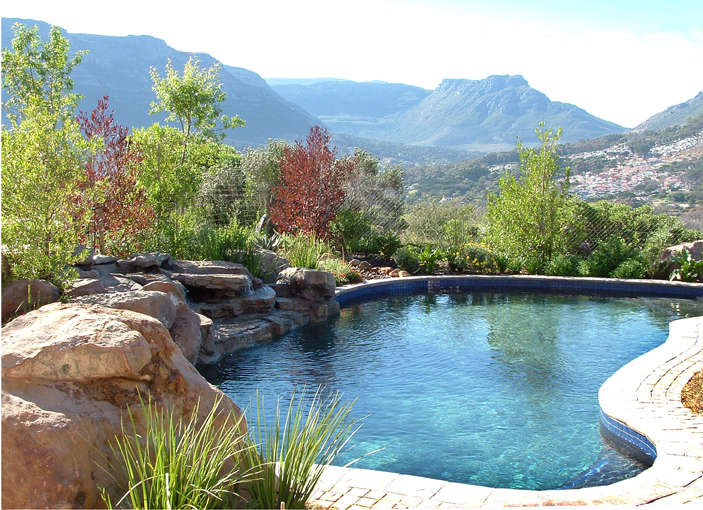 rock features Cape Town, water features Cape Town, koi ponds | Artistic Rock Creations