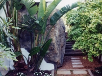 Granite rock feature