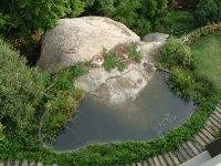 Replicated Granite Pond and Water Feature Cape Town