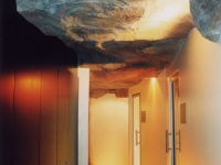 Rock Feature in Twelve Apostles Hotel ceiling  Cape Town