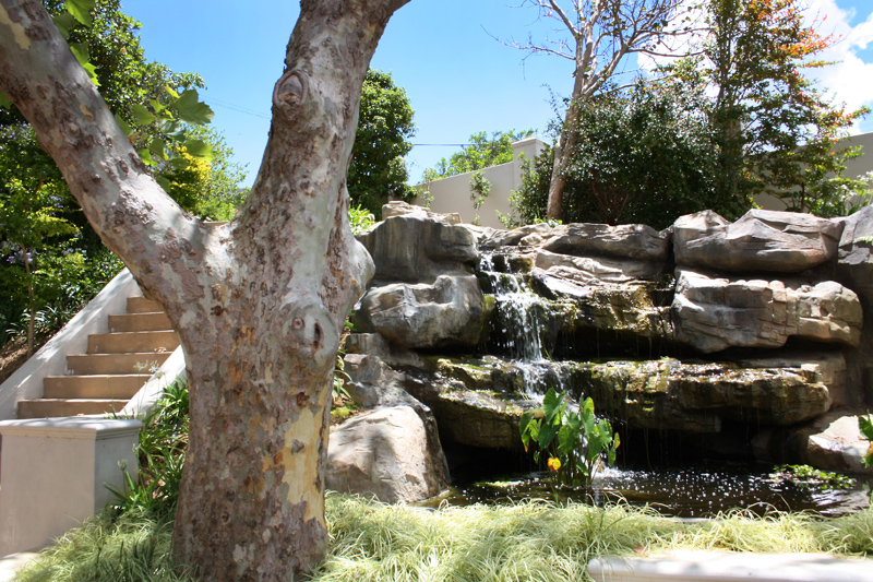 Artistic rock creations natural habitat creation for Koi pond builders cape town
